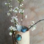 détail vase oazo