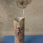 """Grand vase """"Orpierre"""", grès, émail et oxyde."""